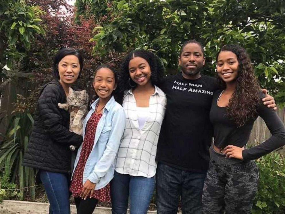 PHOTO: Marvin Bowers, of Renton, Washington, poses with his family.
