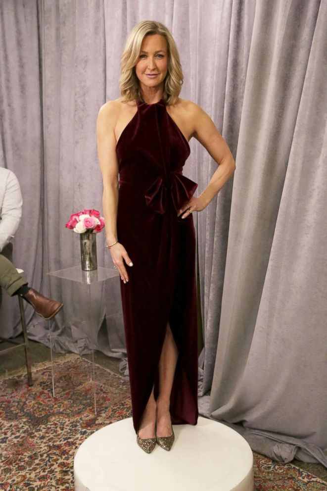 PHOTO: GMA co-anchor Lara Spencer models her 2019 Oscars gown.