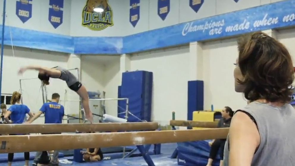 PHOTO: Valorie Kondos Field ucla gymnastics coach