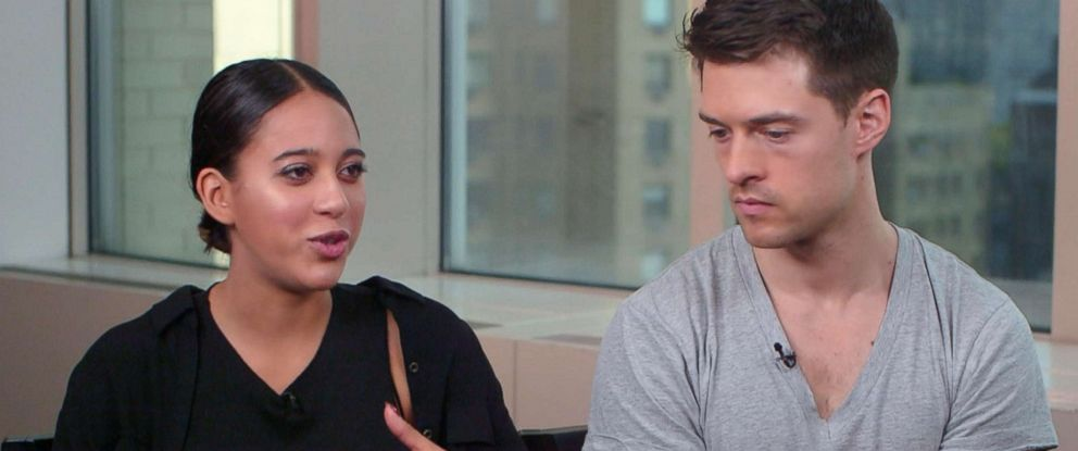 "PHOTO: Natasha Aponte and Rob Bliss spoke to ""GMA"" about the viral Tinder date social experiment."