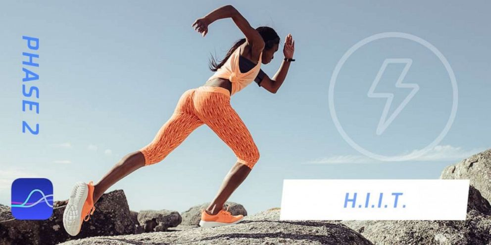 PHOTO: HIIT workouts are recommended in Phase 2, according to FitrWoman.