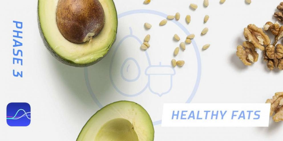 PHOTO: Healthy fats are recommended foods in Phase 3, according to FitrWoman.
