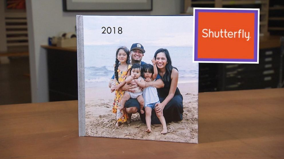PHOTO: Sheila Madrigal ordered a photo book from Shutterfly.