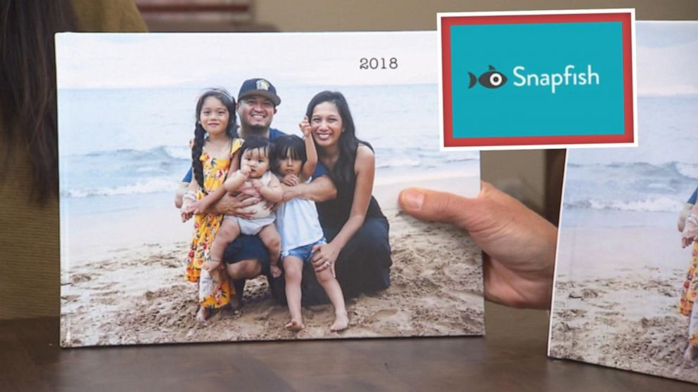 PHOTO: Sheila Madrigal ordered a photo book from Snapfish.