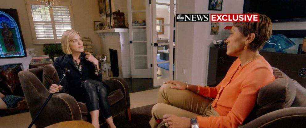 "PHOTO: Actress Selma Blair opens up about her MS diagnosis in an interview with ""GMA"" co-anchor Robin Roberts."