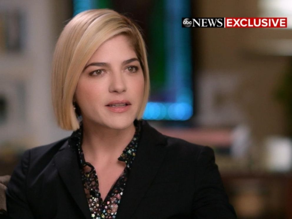 PHOTO: Actress Selma Blair opens up about her MS diagnosis in an interview with GMA co-anchor Robin Roberts.