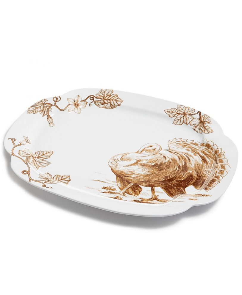 PHOTO: Turkey serving platter from Macys.