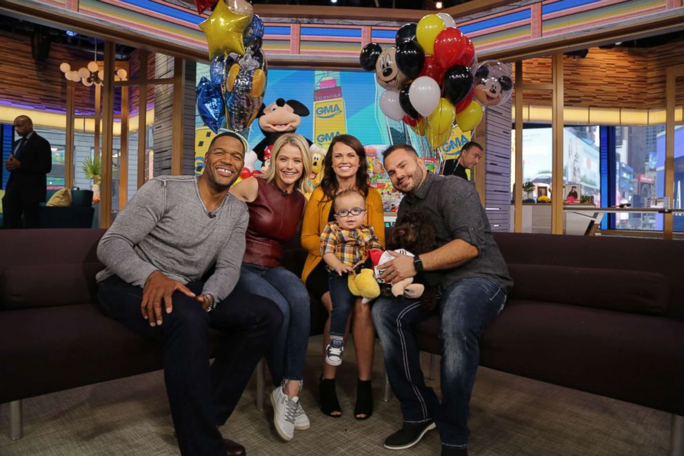 PHOTO: The Dinkel family of Overland Park, Kansas, appeared on GMA Day on Sept. 21, 2018.