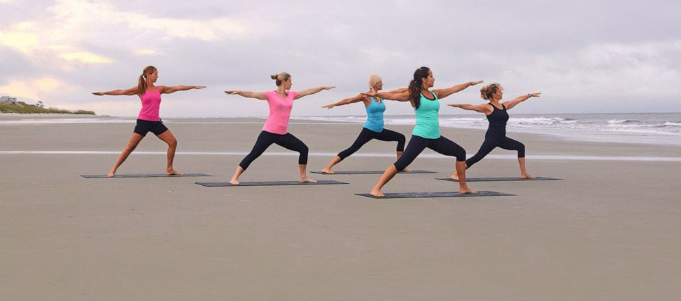 PHOTO: Hilton Head South fitness class beach