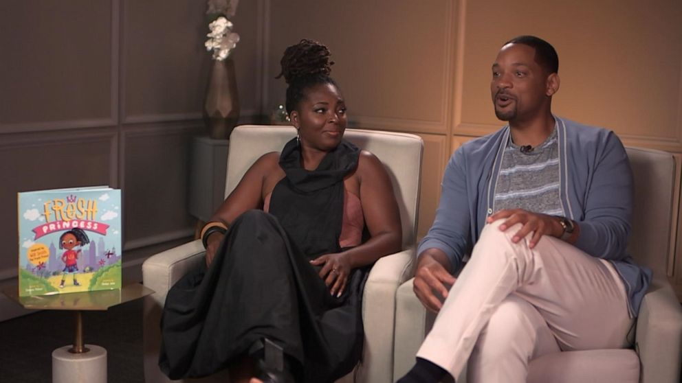 PHOTO: Will Smith and author Denene Millner open up about their new project, Fresh Princess, in an interview with GMA.