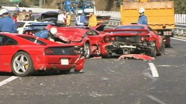 3 Million Dollar Pile Up World S Costliest Crash Abc News