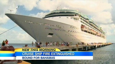 Passengers Describe Horror Of Royal Caribbean Cruise Ship Fire - Cruise ship caribbean