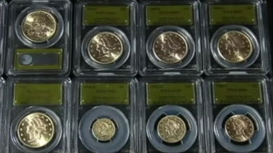 $10M Gold Coin Surprise Uncovered in Calif. Video - ABC News