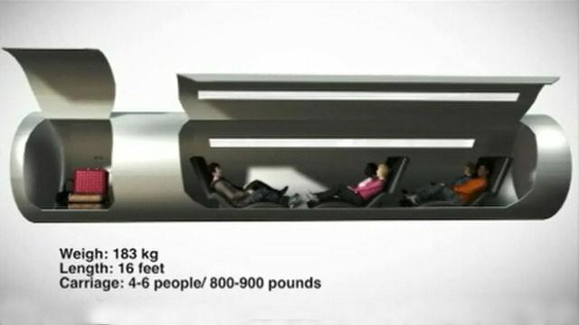 Hyperloop Set in Motion, Prototype Design Scheduled for June 2014
