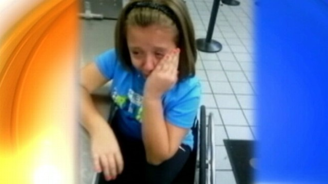 VIDEO: Mother criticizes Dallas airport screening for scaring her 12-year-old daughter.