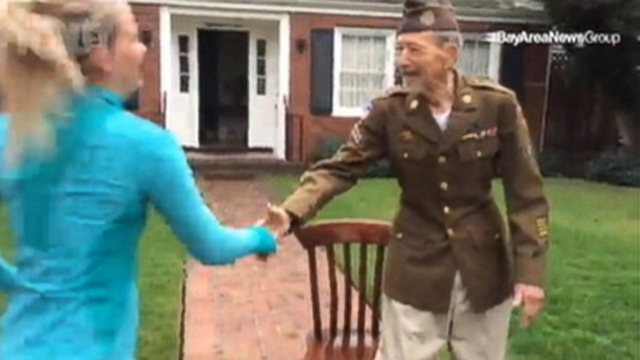 Race in San Jose, California raised money for military veterans.