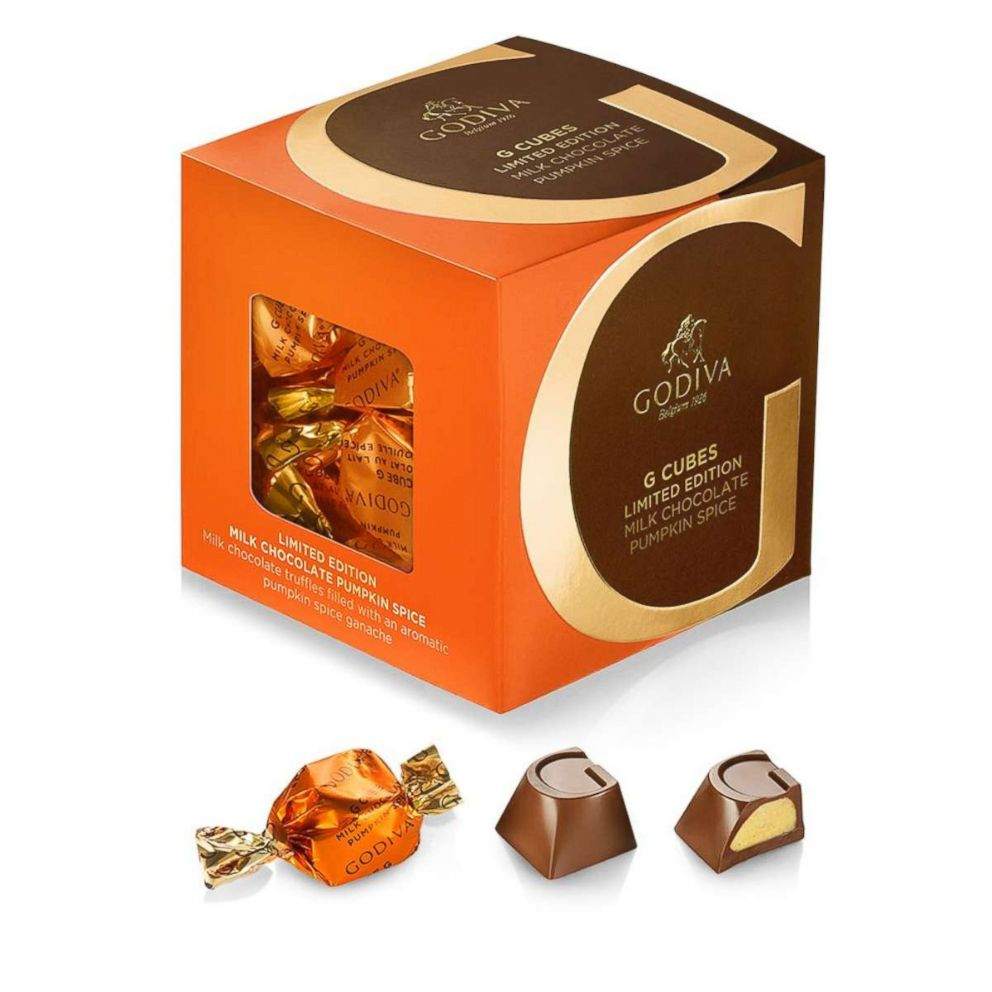PHOTO: Pumpkin spice chocolate truffles from Godiva.