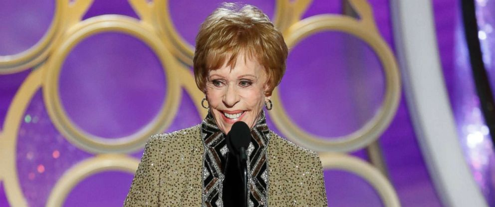 PHOTO: Carol Burnett accepts the Carol Burnett TV Achievement award onstage during the 76th annual Golden Globe awards at the Beverly Hilton Hotel, Jan. 6, 2019 in Beverly Hills, Calif.