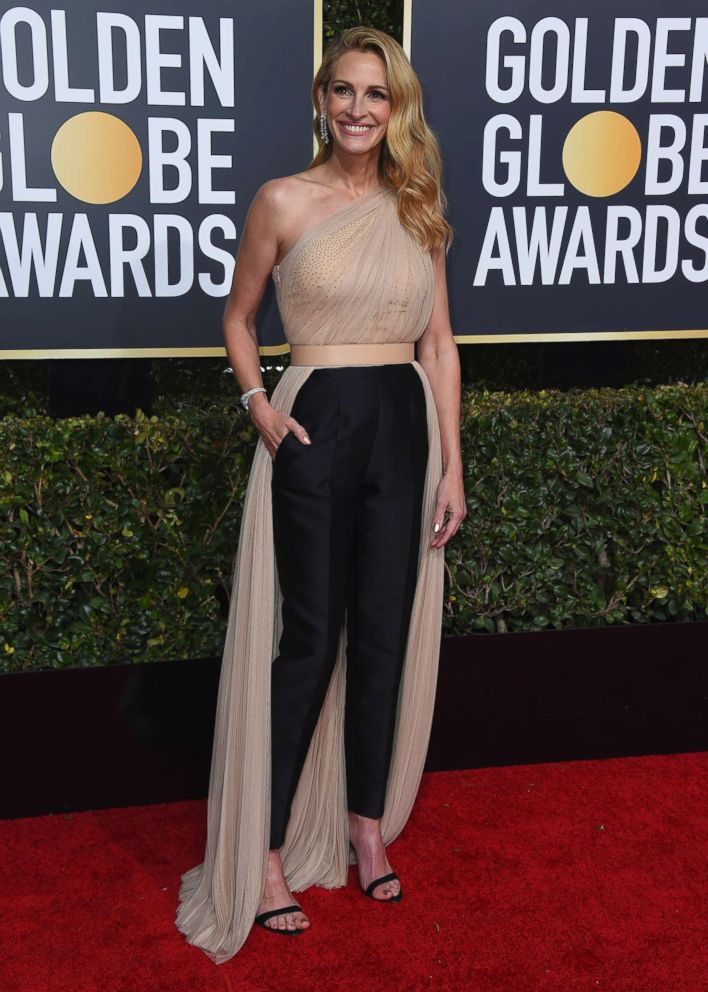 Julia Roberts attends the 76th annual Golden Globe awards at the Beverly Hilton Hotel, Jan. 6, 2019 in Beverly Hills, Calif.