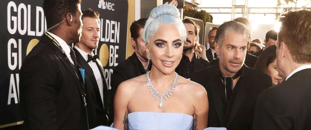 PHOTO: Lady Gaga attends the 76th annual Golden Globe awards at the Beverly Hilton Hotel, Jan. 6, 2019 in Beverly Hills, Calif.