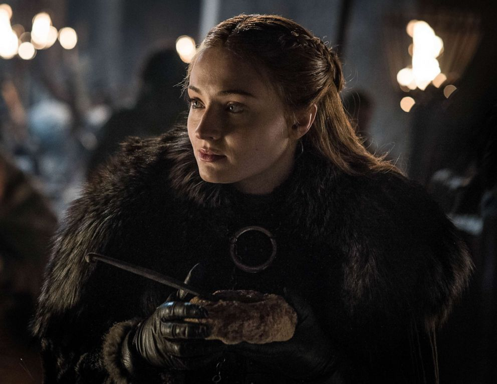 PHOTO: Sophie Turner as Sansa Stark on season 8 of Game of Thrones.
