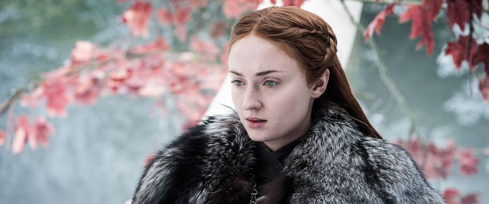 """PHOTO: Sophie Turner, as Sansa Stark, in a scene from """"Game of Thrones."""""""