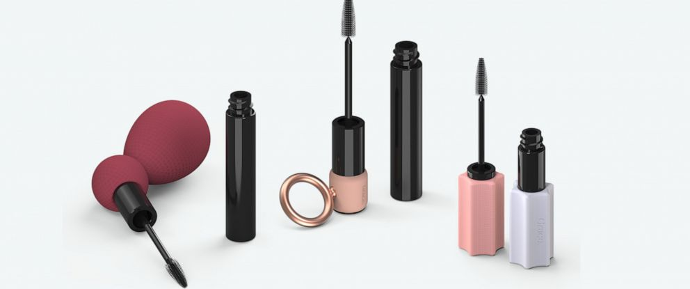 PHOTO: Mascara products with special grips are pictured in photos released by the Grace Beauty brand.