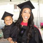 Briana Williams, an attorney living in Los Angeles, California, graduated from Harvard Law School all while raising her daughter Evelyn, now 18 months.