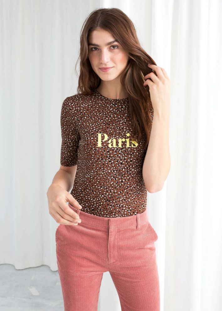 PHOTO: Style Hint: The fun thing about leopard is that it matches so many other shades. We love it with a soft pink (as shown), as well as red, yellow and camel. Experiment with the combo that looks best on you.
