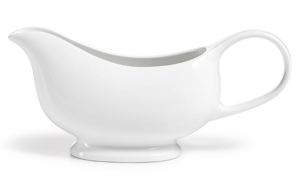 PHOTO: Martha Stewart Whiteware gravy boat created for Macys.