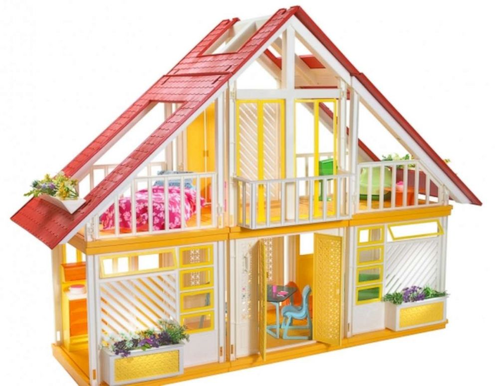 PHOTO: Seen here is Barbies Dreamhouse from 1981. Mattel has re-imagined the Dreamhouse throughout its years in production.