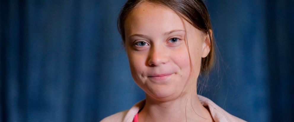 PHOTO: Swedish environmental activist Greta Thunberg, attends an interview with AP before the Climate Strike, at City Hall, Friday, Sept. 20, 2019, in New York.