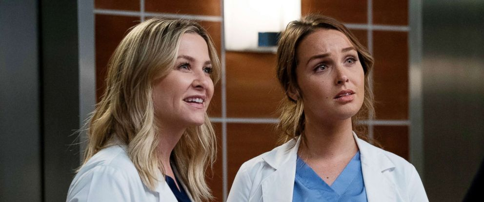 "PHOTO: A scene from ""Greys Anatomy."""