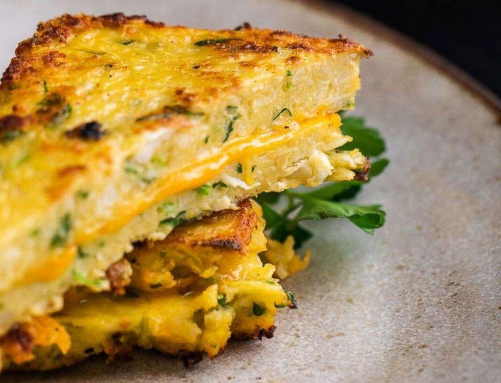 PHOTO: Cauliflower grilled cheese by Thumbtack chef Niko Paranomos.