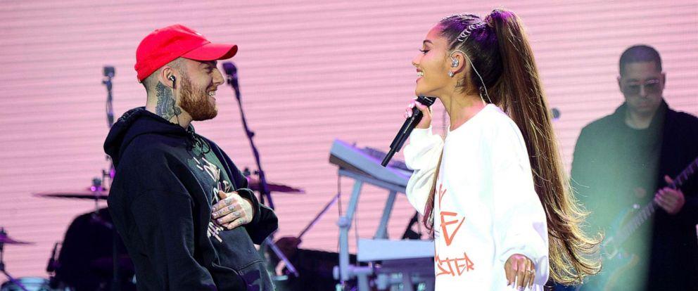 Ariana Grande breaks down during emotional concert in Mac