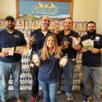 Chris Martinez, Nick Glidden, Ana Lewis, Farley Hayes and Micha Govella from Sprouts Farmer's Market in Katy, Texas, have lost a combined more than 200 pounds.