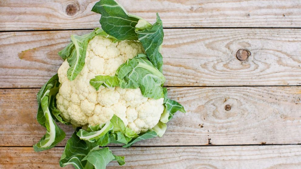 A stock photo of Cauliflower is seen here.