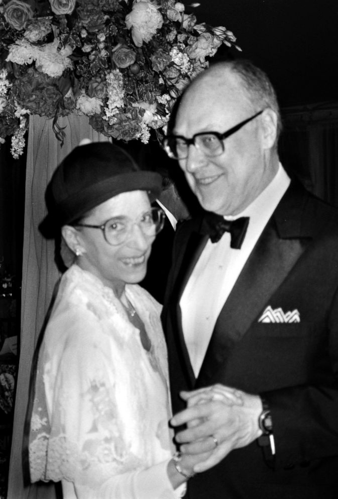 1f88d87c PHOTO: Supreme Court Justice Ruth Bader Ginsburg with husband Martin  Ginsburg, June 8,