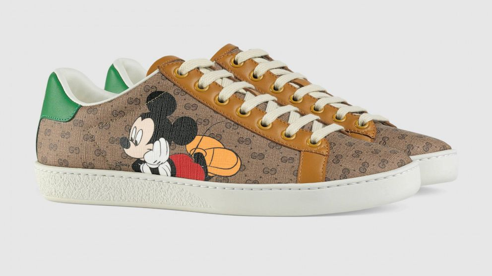 Mickey Mouse is fashion goals