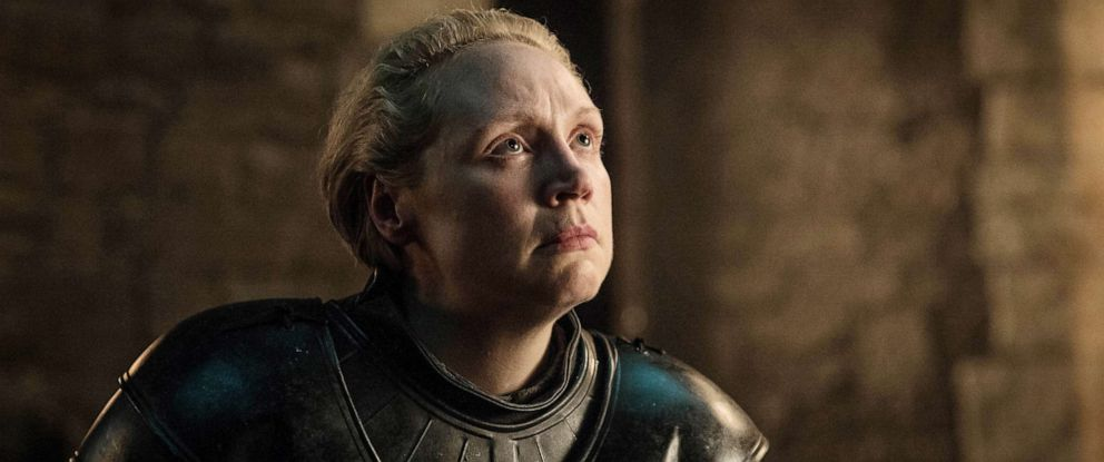 """PHOTO: Gwendoline Christie in a scene from """"Game of Thrones."""""""