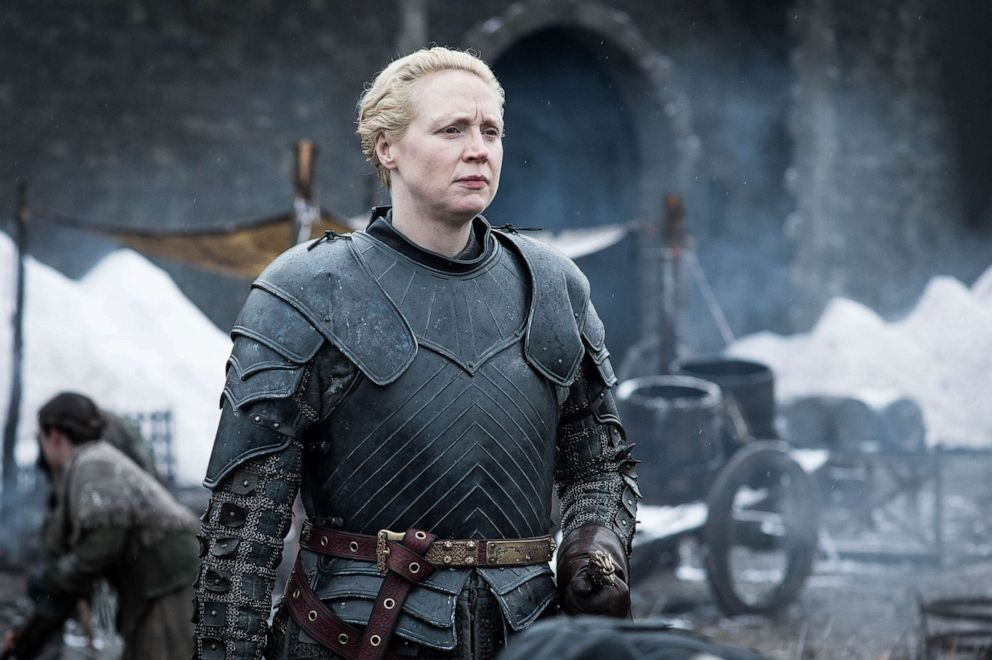 PHOTO: Gwendoline Christie appears in the eighth season of Game of Thrones.