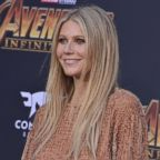"Gwyneth Paltrow arrives at Marvel Studios' ""Avengers: Infinity War"" held on Hollywood Blvd in Hollywood, Calif., April 22, 2018."