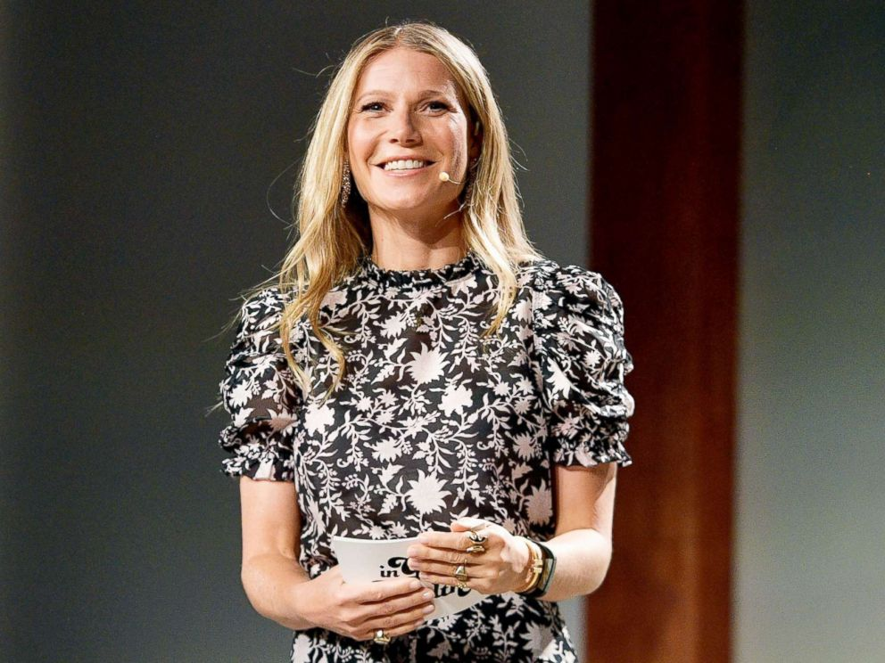 PHOTO: Gwyneth Paltrow speaks onstage at the In goop Health Summit at 3Labs on June 9, 2018, in Culver City, Calif.