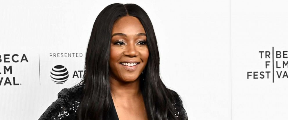 "PHOTO: Tiffany Haddish attends Netflixs ""Tuca & Bertie"" Tribeca Film Festival Premiere at Spring Studios, May 1, 2019, in New York."