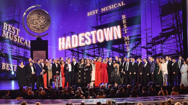 'Hadestown,' 'The Ferryman' big winners at 2019 Tony Awards; Ali Stroker makes history