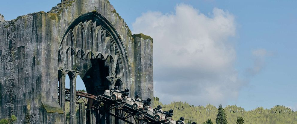 PHOTO: New details of Hagrid's Magical Creatures Motorbike Adventure.