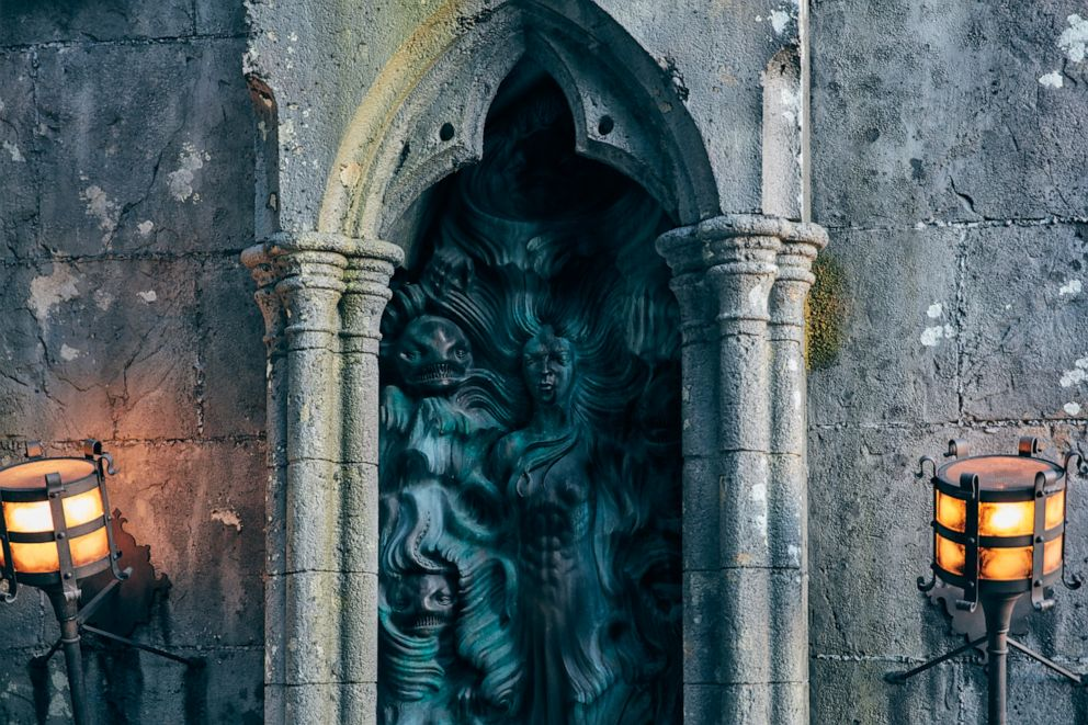PHOTO: New details of Hagrid's Magical Creatures Motorbike Adventure, opening at Universal Orlando on June 13.