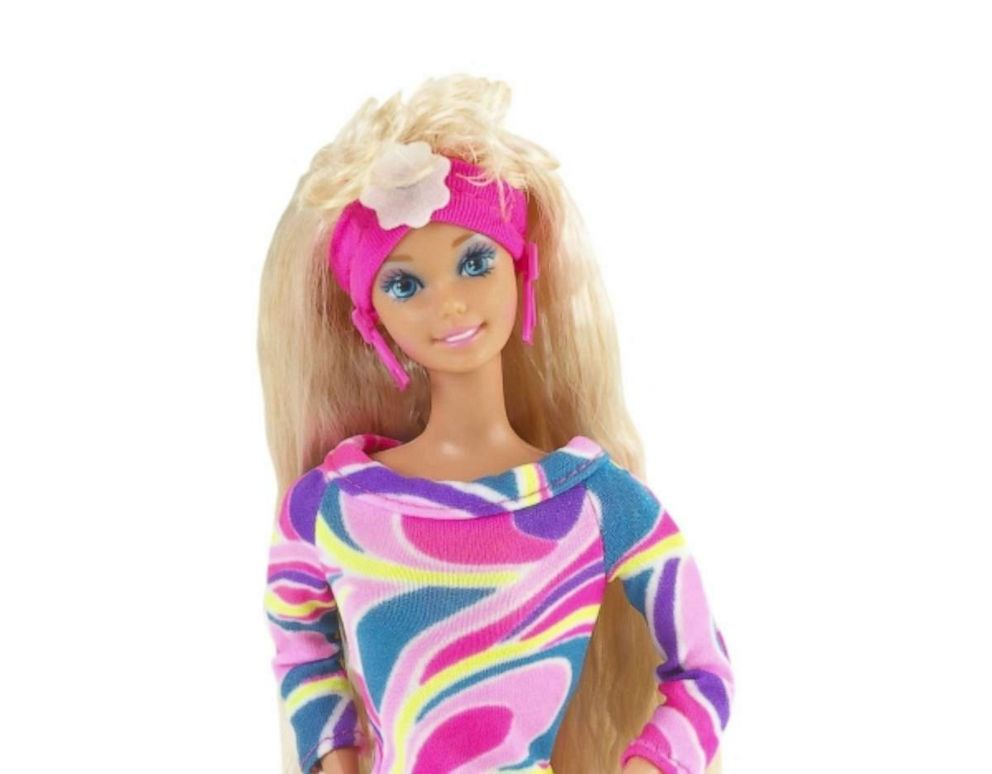 PHOTO: One of the best-selling Barbies of all time, Totally Hair Barbie debuted in 1992 featuring long crimped hair, bendable legs, a colorful outfit and hair gel.