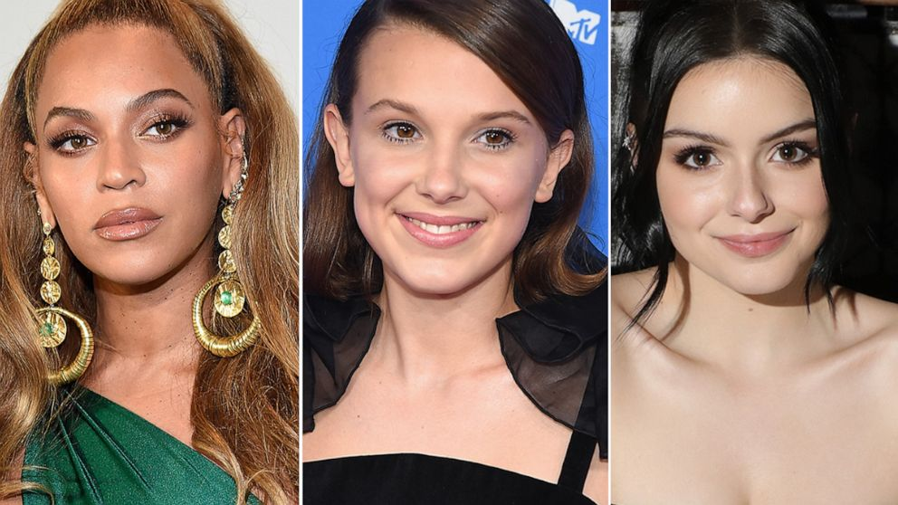 Beyonce, Millie Bobby Brown, and Ariel Winter just totally switched up their hair