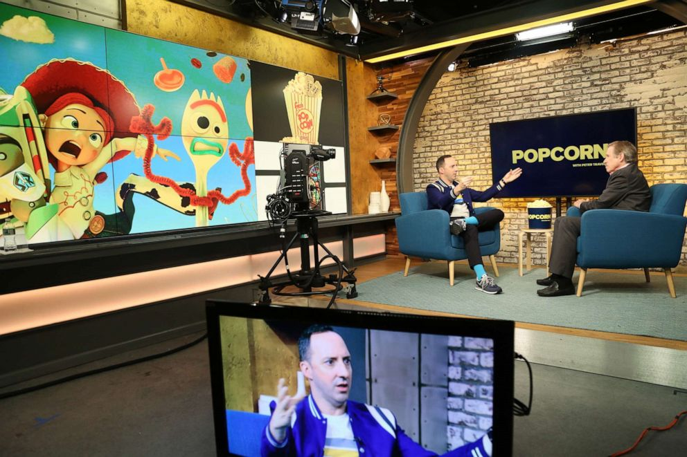PHOTO: Tony Hale appears on Popcorn with Peter Travers at ABC News studios, June 18, 2019, in New York City.
